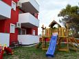 Courtyard Povljana (Pag) - Accommodation 3556 - Apartments with pebble beach.