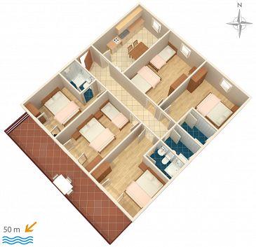 Apartament A-358-b - Apartamenty Sveti Petar (Biograd) - 358