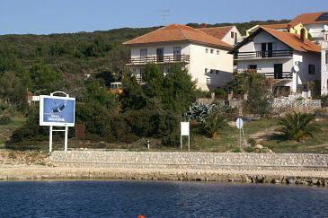 Obiekt Sveti Petar (Biograd) - Zakwaterowanie 358 - Apartamenty blisko morza ze żwirową plażą.