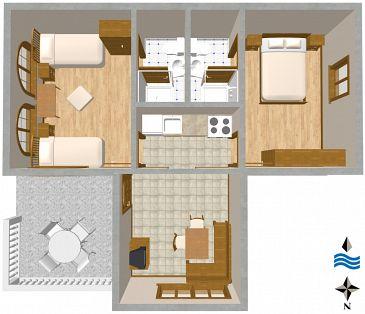 Apartament A-366-a - Apartamenty Biograd na Moru (Biograd) - 366