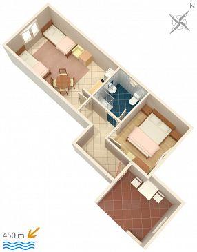 Apartament A-368-b - Apartamenty Biograd na Moru (Biograd) - 368