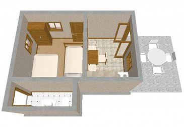Dom K-394 - Willa Uvala Ripišće (Dugi otok) - 394