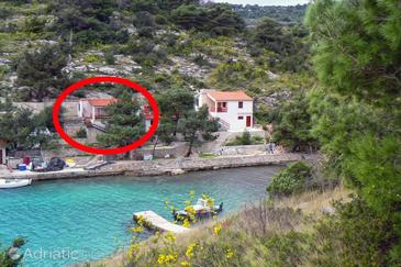 Uvala Dumboka, Dugi otok, Property 395 - Apartments blizu mora with rocky beach.