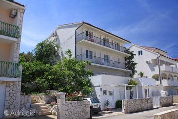 Hvar, Hvar, Property 4004 - Apartments with pebble beach.