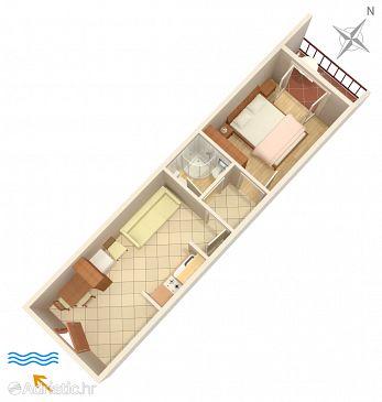 Apartment A-4006-e - Apartments Hvar (Hvar) - 4006