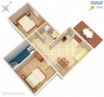 Apartment A-4026-b - Apartments Mudri Dolac (Hvar) - 4026