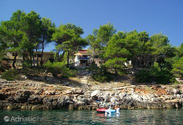 Property Mudri Dolac (Hvar) - Accommodation 4026 - Apartments near sea.