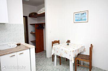 Soline, Dining room u smještaju tipa apartment, WIFI.