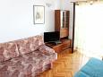 Jelsa, Bedroom u smještaju tipa apartment, dostupna klima i WIFI.
