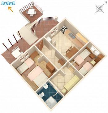 Dom K-4039 - Willa Uvala Skozanje (Hvar) - 4039