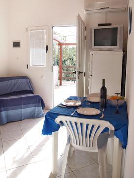 Mudri Dolac, Dining room u smještaju tipa apartment, dostupna klima, dopusteni kucni ljubimci i WIFI.