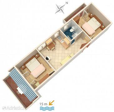 Apartment A-4052-a - Apartments Novalja (Pag) - 4052