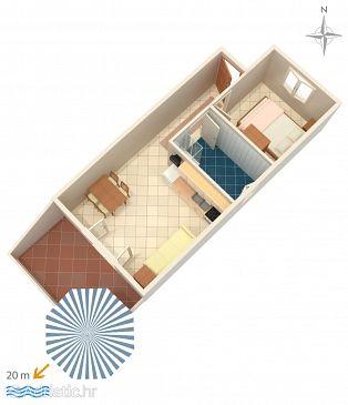 Apartment A-4055-b - Apartments Stara Novalja (Pag) - 4055