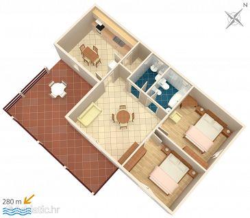 Apartment A-4058-a - Apartments Mandre (Pag) - 4058