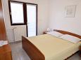 Mandre, Sypialnia 1 w zakwaterowaniu typu apartment, dopusteni kucni ljubimci.