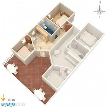 Apartment A-4063-a - Apartments Stara Novalja (Pag) - 4063