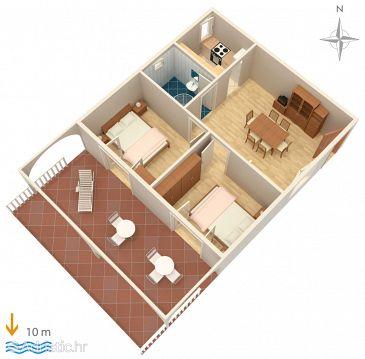 Apartment A-4063-e - Apartments Stara Novalja (Pag) - 4063