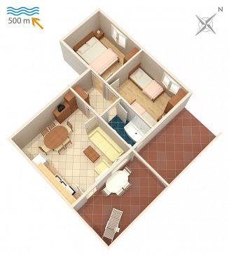 Apartament A-407-a - Apartamenty Njivice (Krk) - 407