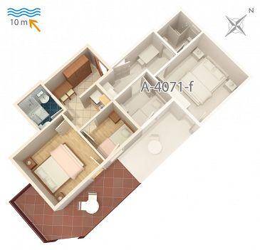 Apartament A-4071-e - Apartamenty Stara Novalja (Pag) - 4071