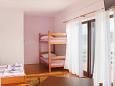 Bedroom - Studio flat AS-4071-a - Apartments Stara Novalja (Pag) - 4071