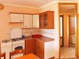 Kustići, Kitchen u smještaju tipa apartment, WIFI.