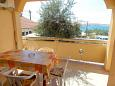 Terrace - Apartment A-4088-a - Apartments Kustići (Pag) - 4088