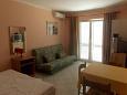Living room - Studio flat AS-4088-a - Apartments Kustići (Pag) - 4088