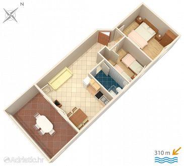 Apartment A-4089-c - Apartments Caska (Pag) - 4089
