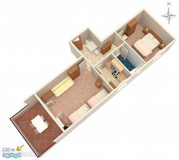 Apartment A-4094-e - Apartments Novalja (Pag) - 4094