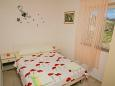 Bedroom - Studio flat AS-4097-b - Apartments Novalja (Pag) - 4097