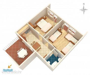 Apartment A-4099-b - Apartments Stara Novalja (Pag) - 4099