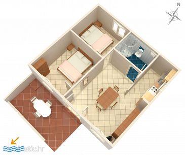 Apartment A-4111-a - Apartments Košljun (Pag) - 4111