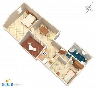 Apartment A-4111-c - Apartments Košljun (Pag) - 4111