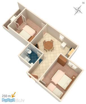 Apartment A-4113-b - Apartments Mandre (Pag) - 4113