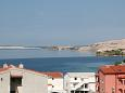 Terrace - view - Apartment A-4121-b - Apartments Metajna (Pag) - 4121