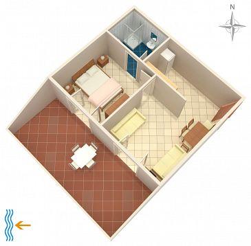 Apartament A-4127-a - Apartamenty Metajna (Pag) - 4127