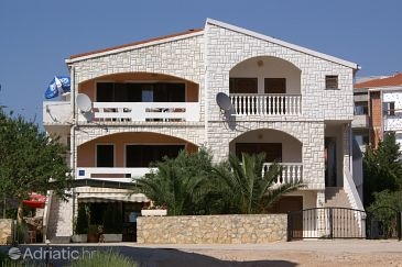 Property Novalja (Pag) - Accommodation 4128 - Apartments with pebble beach.