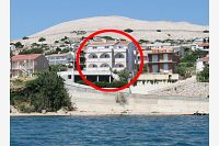 Apartments by the sea Zubovići (Pag) - 4130