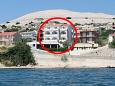 Apartments Zubovići (Pag) - 4130