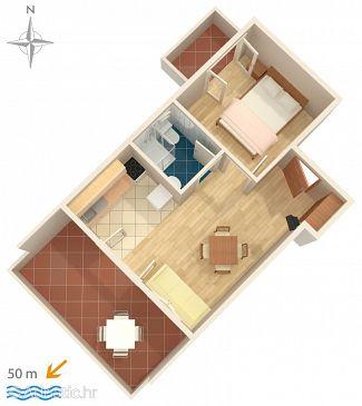 Apartment A-4146-c - Apartments Stara Novalja (Pag) - 4146