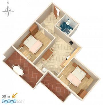 Apartment A-4146-d - Apartments Stara Novalja (Pag) - 4146