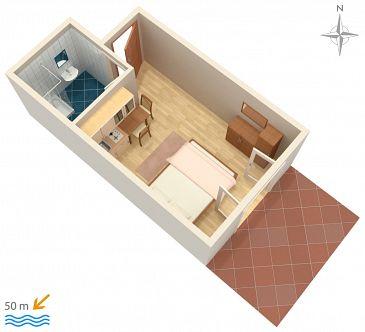 Studio flat AS-4149-b - Apartments Pag (Pag) - 4149