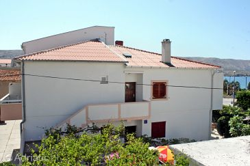 Property Pag (Pag) - Accommodation 4149 - Apartments near sea with pebble beach.