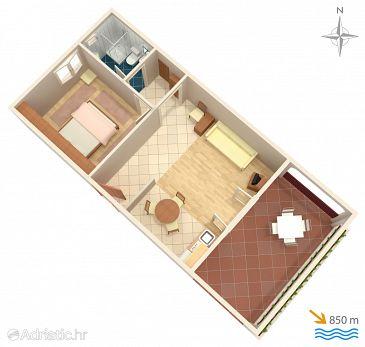 Apartment A-415-a - Apartments Kornić (Krk) - 415