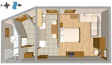Studio flat AS-4158-a - Apartments Split (Split) - 4158