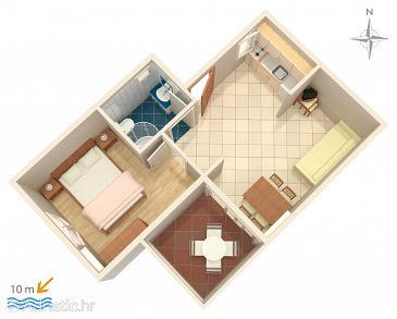 Apartment A-4167-a - Apartments Primošten (Primošten) - 4167