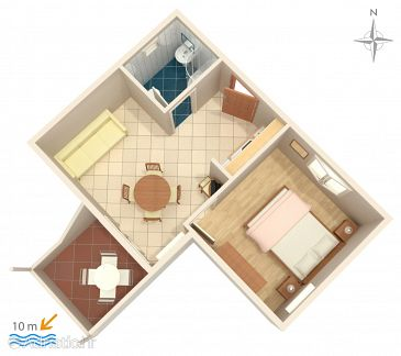 Apartment A-4167-d - Apartments Primošten (Primošten) - 4167