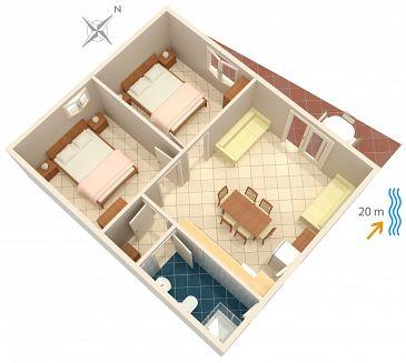 Apartament A-4168-a - Apartamenty Bilo (Primošten) - 4168