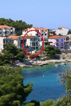 Obiekt Bilo (Primošten) - Zakwaterowanie 4189 - Apartamenty blisko morza.