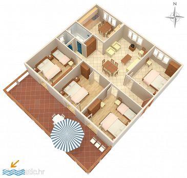 Apartment A-4190-a - Apartments Bilo (Primošten) - 4190